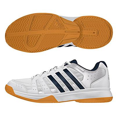 アディダス (adidas) LIGRA 3(ランニングホワイト×カレッジネイビー×テックシルバーメット) B33043 [分類:バレーボール バレーボールシューズ] 送料無料の画像