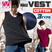 Simple and durable!! Fitness vest/ Great quality materia/ Big yards/ Multiple colours/ Absorbs moist quickly/ Soft and cosy 【M18】