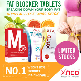 Xndo Carbo Blocker + Fat Blocker Detox + Detox + Slimming Tablets