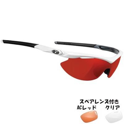 ティフォージ(Tifosi) スリップ ホワイト/ガンメタルTF0010105821 【自転車 サイクリング ランニング アイウェア サングラス】の画像