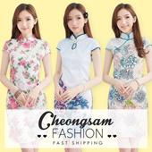 Fashion Cheongsam / Qipao / Traditional Clothes 旗袍