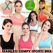 Seamless Comfortable Padded Bra Sports/ Yoga/ Maternity/Sleeping. PLUS SIZES (S to XXXL)