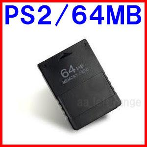 【送料無料】S2用互換メモリーカード64MB(プレーステーション2専用・8倍のセーブデータを保存可能!)の画像