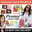 [Korean Hot Trend] 1+1  COWHIDE FUNCTIONAL ID CARD HOLDER★★KOREA FROMB★★/ Neck Wallet / LANYARD
