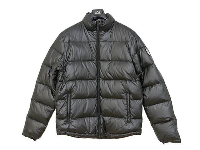 【クリックで詳細表示】EMPORIO ARMANI EA7 エンポリオアルマーニ 2012-2013年秋冬新作! ダウンジャケット 271358 2A340 0020 BLACK ブラック メンズダウン サイズS M L XL