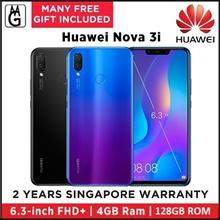 Huawei  Nova 3i  4GB [ READY STOCKS! Collect Same Day   128GB (Black/Purple) Local Warranty