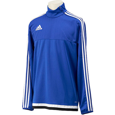 アディダス(adidas) TIRO15 トレーニングトップ MHU08 S22338 ボールドブルー/ホワイト/ブラック 【サッカー ウェア ウエア トレーニング】の画像