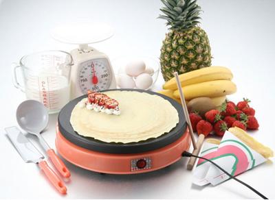 家庭用電気クレープメーカー『DoReMi(ドレミ)』クレープ焼き器!お家でクレープ屋さん!袋10枚付のフルセット!クレープメーカードレミ