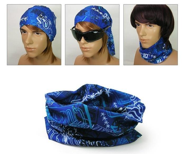 【クリックでお店のこの商品のページへ】[Melang]#MS353 Multi Function Scarf : Headwear UV COOLMAX Bandana Tube Mask NEW