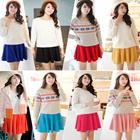 [Malaysia Seller - BarangAsia.com] Korean Casual Skirt / Office Skirt / Mini Skirt / Sun Skirt / A Skirt / Candy Colours