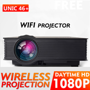 🌟WIFI PROJECTOR UC46+🌟Android WIFI RD805  the cheapest UC46+ in Singapore 1080P portable project