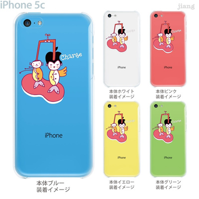 【iPhone5c】【iPhone5c ケース】【iPhone5c カバー】【ケース】【カバー】【スマホケース】【クリアケース】【クリアーアーツ】【Clear Arts】【アップルヘアー・チャージ】 01-ip5c-zec010の画像