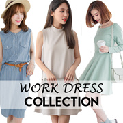 OBDESIGN ★ I.MODA PLUS ★ OB DESIGN ORANGEBEAR ★ TIG ★ OFFICE WORK DRESS COLLECTION ★ S-3L SIZES ★