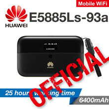 Huawei e5885 Mobile WiFi 4G+ CAT6 300Mbps 6400mAh Lan Port Power Bank Travel Mifi