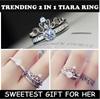 INSTOCKS! 💍👑 ORIGINAL 2 IN 1 PRINCESS TIARA RING 👑💍 ♥ SWEETEST GIFT ♥ VIRAL ON THE INTERNET ♥