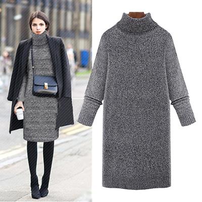 秋冬下地衫ニットセーター女装着やせ顕高で款直筒ゆとり厚く戸下地衫
