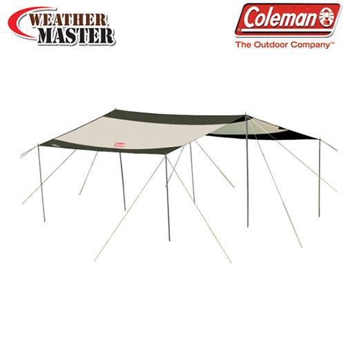 【クリックでお店のこの商品のページへ】Coleman[COLEMAN] コールマン WEATHERMASTER SQUARE TARP II (170T15850J) ウェザーマスタースクエアタープII /キャンプ用品/テント/キャンプ/[送料無料]