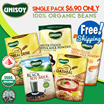 [Single Pack] *HEALTH* UNISOY Instant Nutritious Soya Powder / Cereal Drink / Oatmeal!