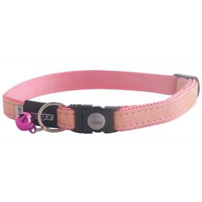 アルファプロダクツ ログズ いざという時外れるセーフティ首輪 GlitterCat ピンク フリーサイズ 【ペット用品 猫用品(グッズ) リード】の画像