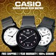 [LOWEST PRICE IN SINGAPORE!!]CASIO Classic Analog Resin Strap Simple Basic Watch MQ 24 27
