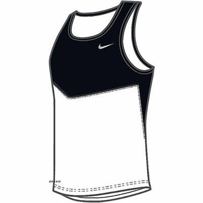 ナイキ(NIKE) DRI-FIT YCシングレット 603316 010 S 【メンズ トレーニングウェア ランニングシャツ】の画像