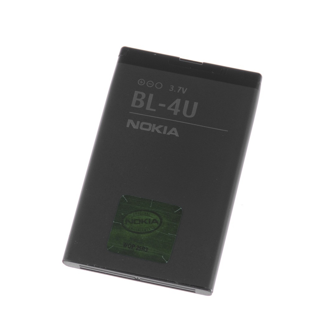 【クリックで詳細表示】3.7V 1000mAh Nokia BL-4U Compatible Rechargeable Li-ion Battery 3.7Wh For E66 8800A