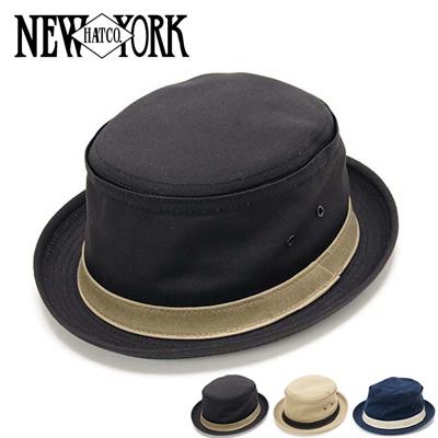 ニューヨークハット New York Hat 3061 コットンポークパイハットの画像