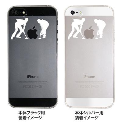 【iPhone5S】【iPhone5】【iPhone5ケース】【カバー】【スマホケース】【クリアケース】【カーリング】 ip5-06-ca0017の画像