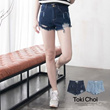 Tokyo Fashion - Denim Short With Rips-6004817