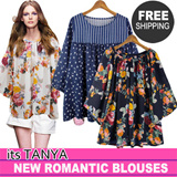 ★2015 New Arrival add!★ Romantic Top Chiffon Blouses collection / Work Shirts Office style/ Plus Size Travel Item K-star Korea fashion New Updated/Today hot item