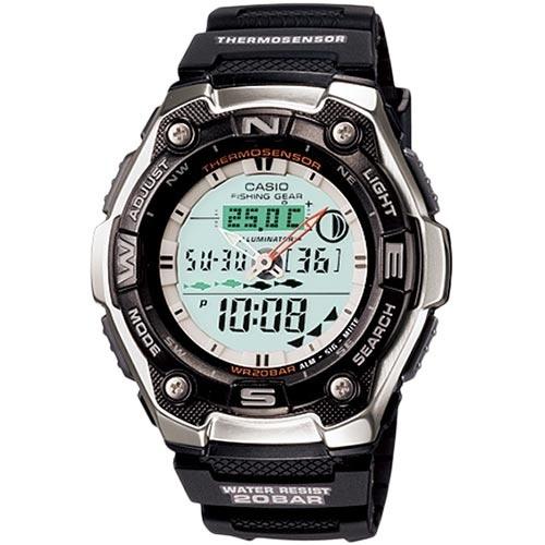 【クリックで詳細表示】カシオ(CASIO) SPORTS GEAR 腕時計 ブラック メンズ AQW-101J-1AJF 【スポーツウォッチ】
