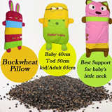 Baby Buckwheat Hull Pillow/ Bean Bag Pillow/ Soft Sleep Position for baby/toddler/kid/adult