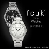 [Best Price Guarantee] Fcuk Ladies below $200 Watches Promotions [WatchesZon]