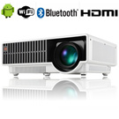 Sale~2015 Brand New LED Home Theater Android Smart Projector W330 Full HD 1080P 2800 Lumens/WIFI/Bluetooth/HDMI/DVB-T/USB/Android 4.4 Smart Led Projector Galaxy S5 S6 Xiaomi Huawei iphone 5s 6 Plus