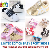 [ORTE] Sport Baby Prewalkers Shoes Boy Girl Toddler ★ Diapers ★ Fast Delivery ★ Best Selling Shoe★