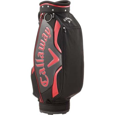 ◆即納◆キャロウェイ(Callaway) ライズ(Rize)キャディバッグ 15 JM BLK/RED 【メンズ ゴルフ カート型】の画像