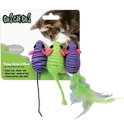 ゴーキャットゴー(GO!CAT!GO!) スリーマウス 5031770 【おもちゃ ねずみ ネズミ 鼠】の画像