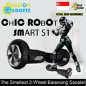 SG seller New iGoboard Smart S1 self balancing electric scooter Airwheel Segway Two Balance skateboard AirBoard Wheel Unicycle Mini-segway Hoverboard Drifting Board