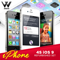 ONE DAY ONLY! CHEAPEST FLAT PRICE**[Apple]**Apple iPhone 4s New condition Refurbished Set