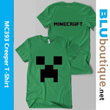 Minecraft T-shirt Toy Pushie * T-shirt * Birthday Goodie Bags with personalised labels * minecraft Key chain * minecraft cup * minecraft bag night glow