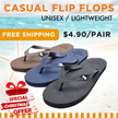 [CHRISTMAS SPECIAL] Unisex Casual Flip flops Shoes / Mens sandal / Journey Shoes / Men′s Cool Fashion / Good workmanship / Non-Slippery / Natural Rubber / Beach Lovers!
