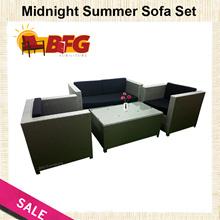 BFG Furniture Midnight Summer Sofa Outdoor Designer Rattan Set Brand New