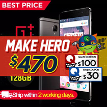 OnePlus 3T   A3010 With Oxygen OS  64GB/128GB 16MP Camera 4K resolution 1080p Full HD  Soft Gold]