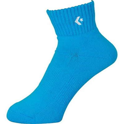 コンバース(CONVERSE)カラーアンクルソックスCB161003スカイ【靴下バスケットボールバッソクアクセサリー】