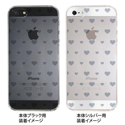 【iPhone5S】【iPhone5】【iPhone5ケース】【カバー】【スマホケース】【クリアケース】【ミニハート】 ip5-06-ca0021kの画像