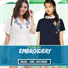 [27 MAY NEW] Embroidery Blouse Shirts Tshirt Collections
