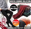 [BUY 4 GET 1]Free shipping/Fast DeliveryWomen/Men Winter Leggings/ Plus size Thermal wear/winter inner wear/-15 degree keep warm/ inner wear/Women pants/Mens pants/Korean style