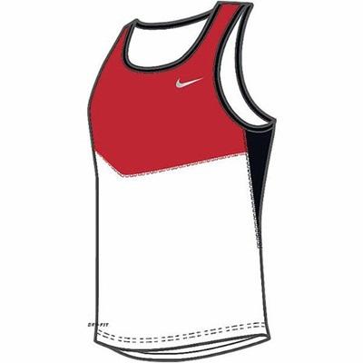 ナイキ(NIKE) DRI-FIT YCシングレット 603316 611 S 【メンズ トレーニングウェア ランニングシャツ】の画像