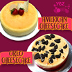 Yez Cake American Cheese cake / Oreo Cheesecake 7 Inch - 800G or 8 Inch - 1.1 KG available