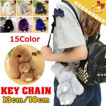 【予約 / 送料無料】可愛い飾り物/フワフワ/兎/キー/レディースバッグにもっと魅力があるファッションな飾り物/ペンダント/15 colors